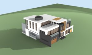 Design - 3D Rendering - MODERN HOME